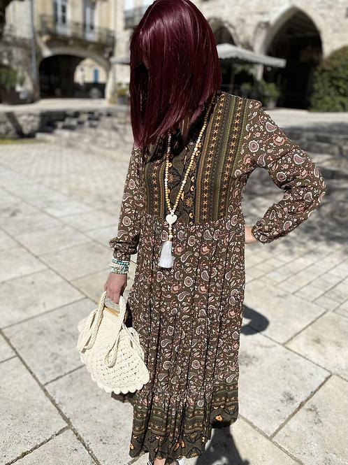 Robe Yola marron