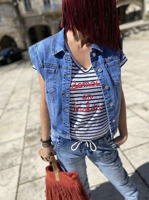 Veste jeans Chléo