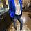 Thumbnail: Blazer Cyndia bleu royal