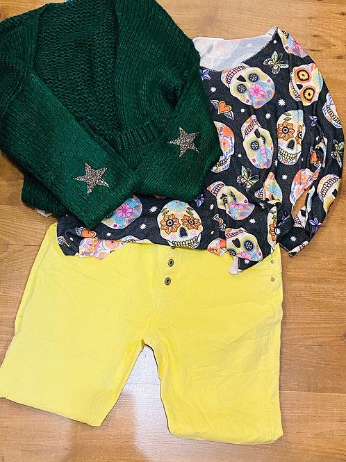 Pantalon Louni jaune