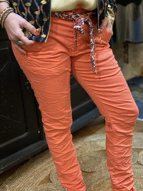Pantalon Gordon corail