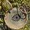 Thumbnail: Sac rond Occhio bleu doré