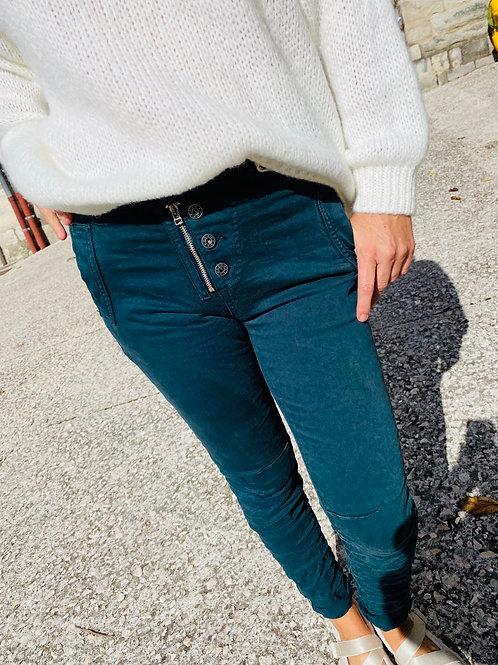 Pantalon Hugo vert sapin