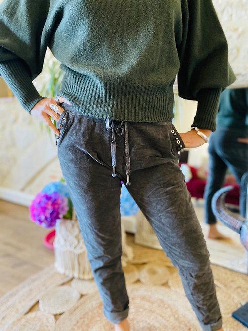 Pantalon Gilda anthracite