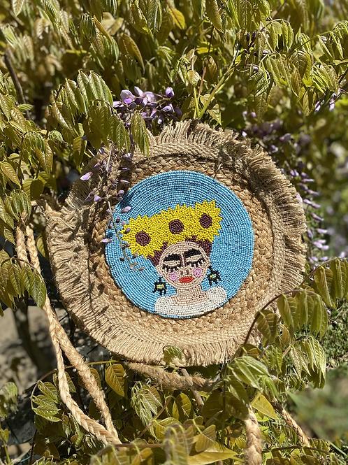 Sac rond  Frida tournesol