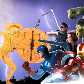 AVENGERS OF THE ILIAD: MARVEL HEROES GET HOMER-ED