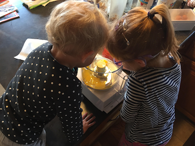 Lessons in the Kitchen: Baking with Your Young Children
