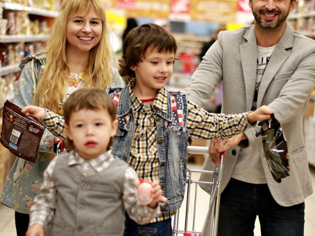 From Shopping Bingo to I Spy: Making Grocery Shopping Fun with Kids