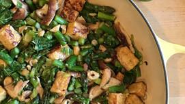 Tempeh & Asparagus Stir-Fry