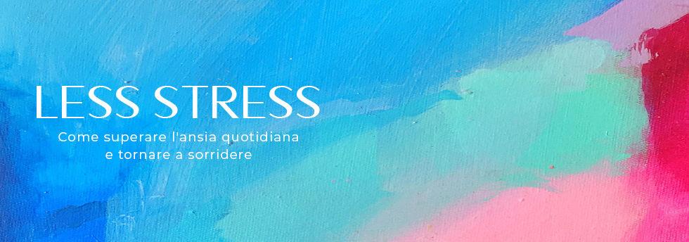 copertina sito - Corso ONLINE less stres
