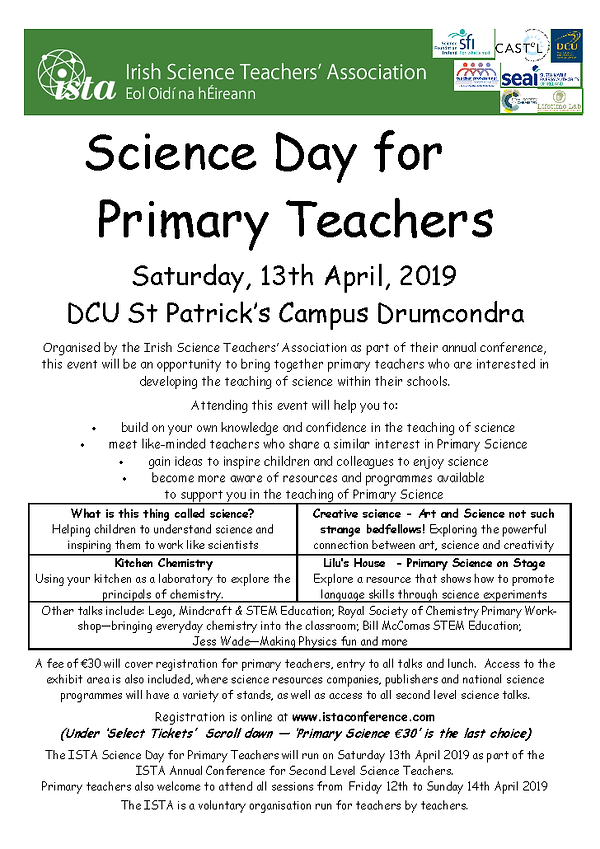 ISTA Science Day for Primary Teachers 13