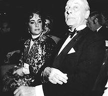 Elizabeth Taylor & Baron Guy de Rothschild