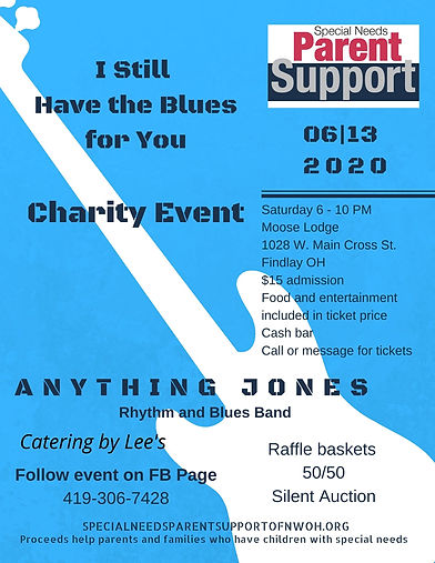 I Still Have the Blues for You Charity E