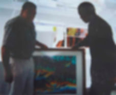 Jean-Baptiste meeting Nelson Mandela
