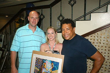 Art show at Sandals La Toc, Saint Lucia