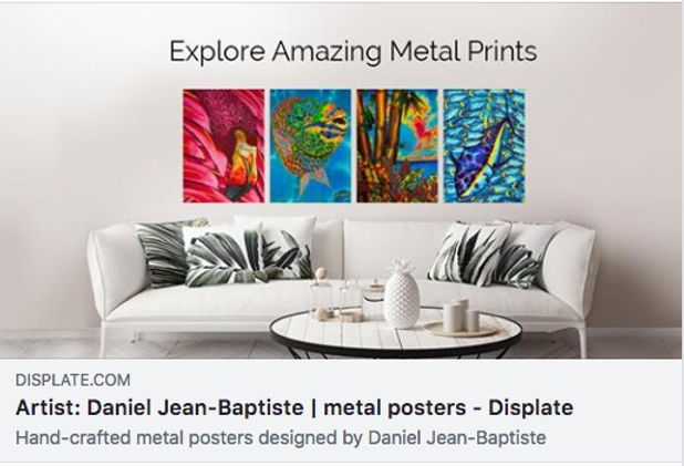 Jean-Baptiste Silk Painting art prints AT Displate