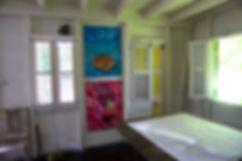 Jean-Baptiste Art studio in St. Lucia.