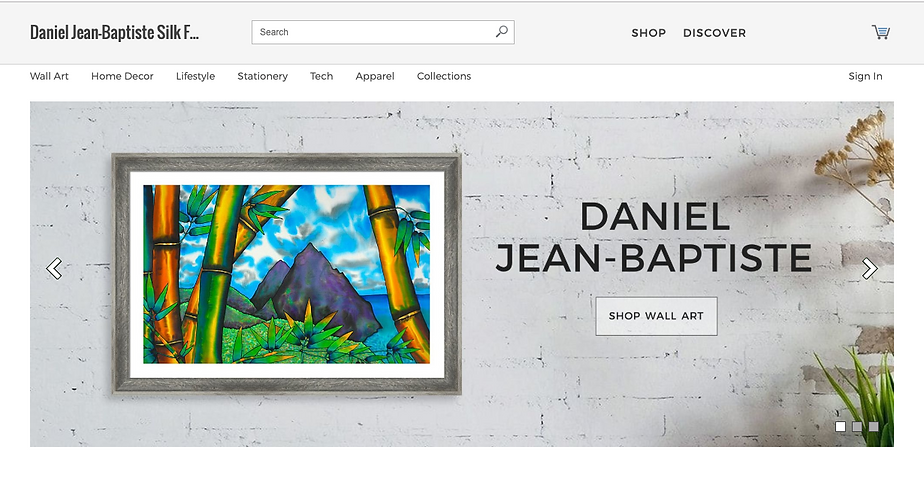 Jean-Baptiste Silk Painting art prints