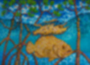 Jean-Baptiste.com Silk Painting of a St. Lucia parrot