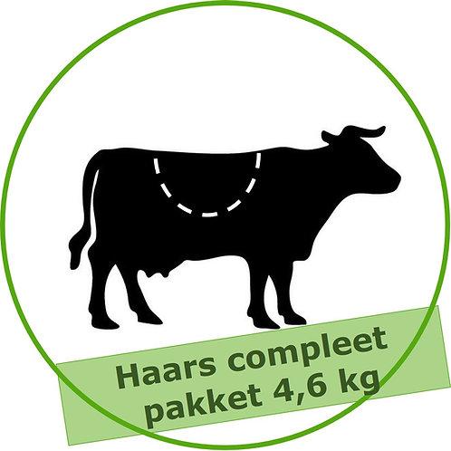 Haars compleet pakket (ca. 4,6 kg)