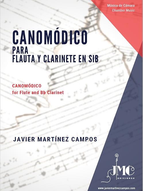 CANOMÓDICO para Flauta y Clarinete en Sib (2006)