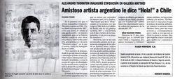 Diario La Nacion Chile, 2007.