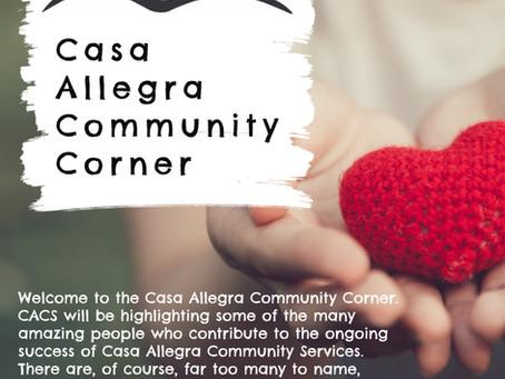 Casa Allegra Community Corner