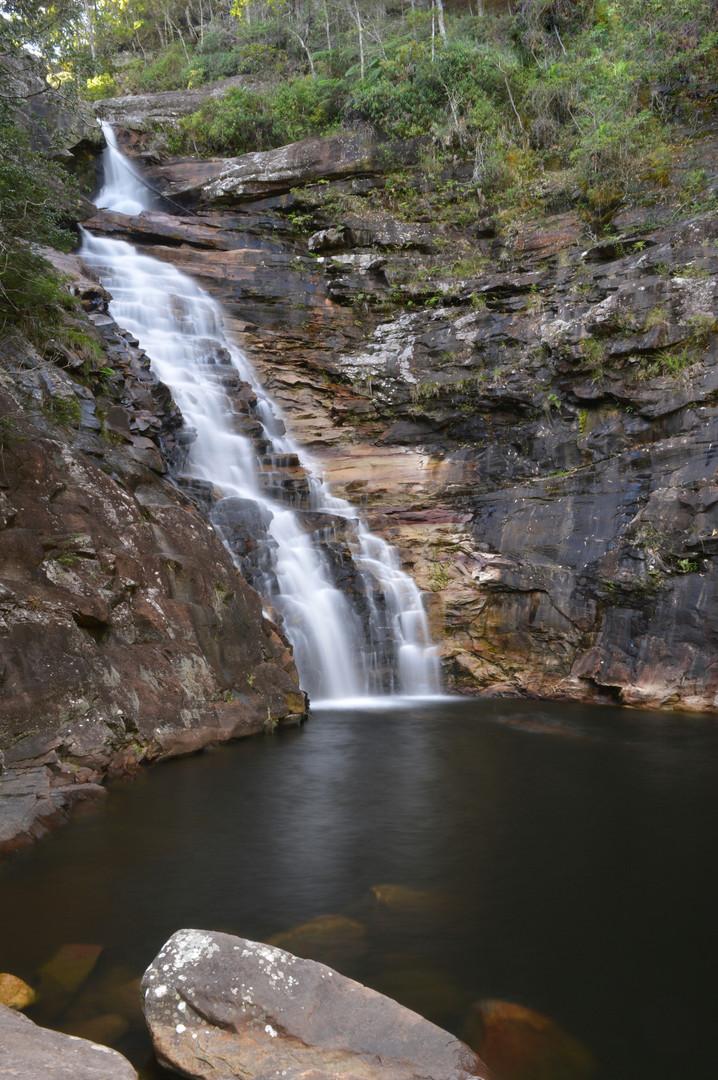 Vale do pati. Cachoeira do Funis