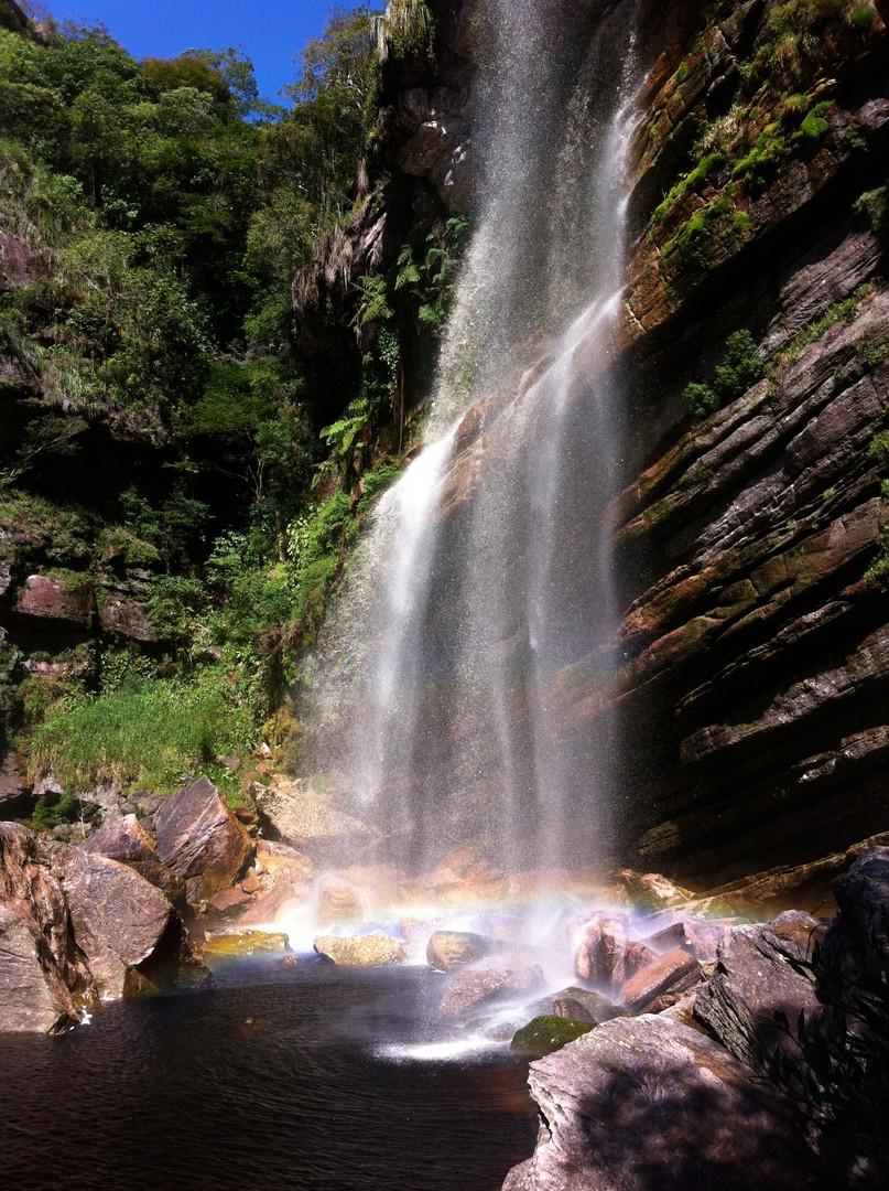 trekking do mixila cachoeira do capivari