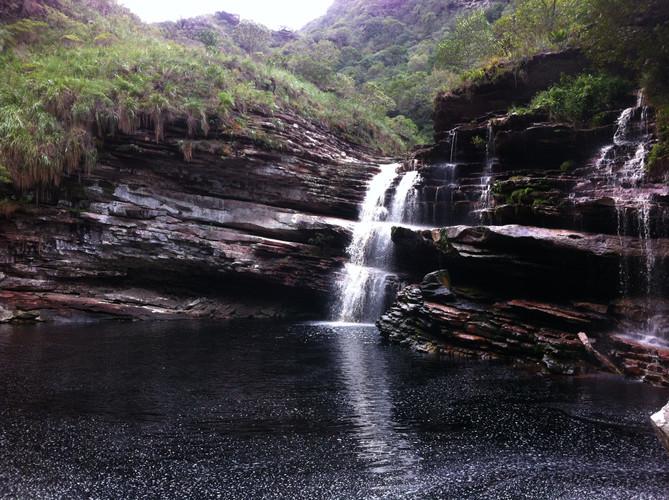 trekking do mixila cachoeira do capivara