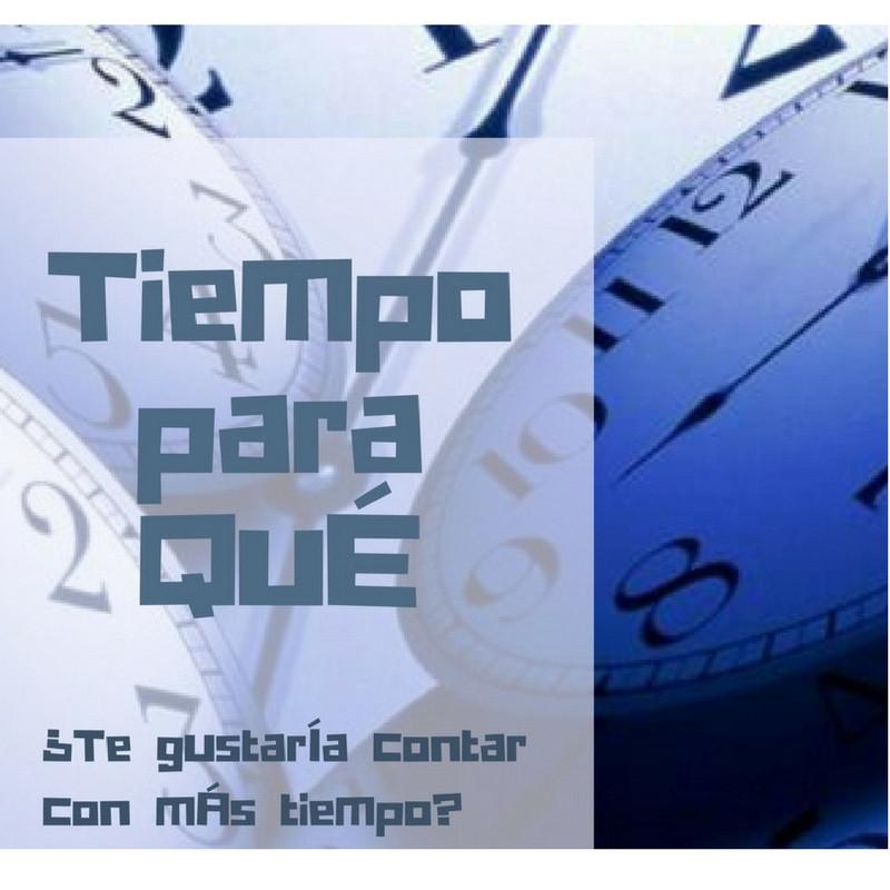 Tiempo para qué