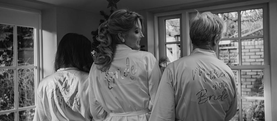 Dan and Emily's Intimate Winter Wedding.