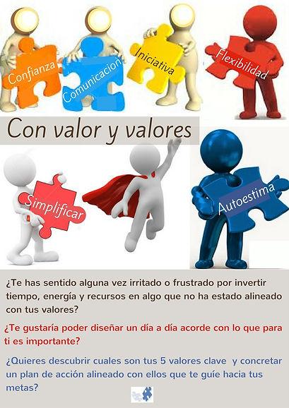 Con valor y valores formación empresa