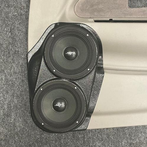 "00-04 Tacoma Front Door Custom Speaker Pods for Dual 6.5"""