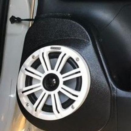 "16-20 Toyota Tacoma Rear Door Custom Speaker Pods for 6.5"""