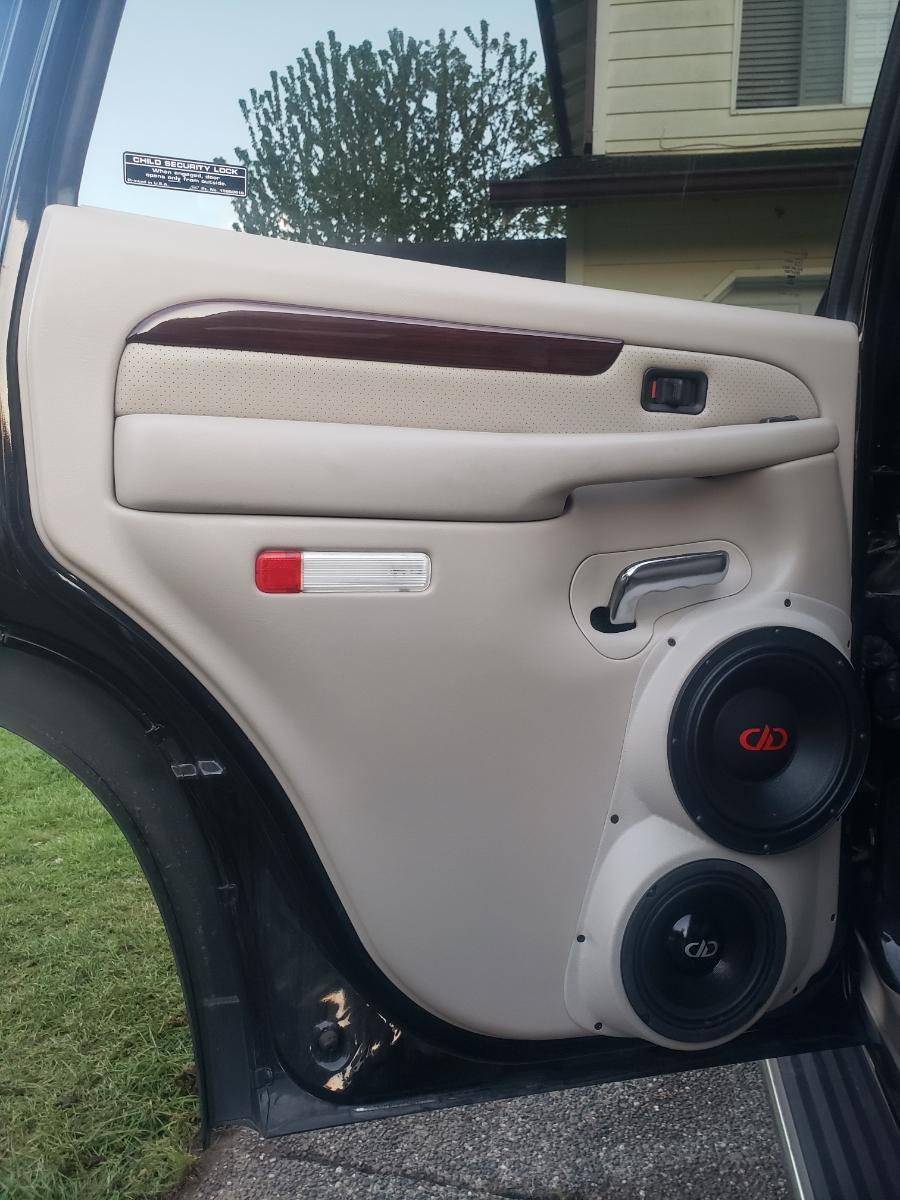 Rear Door Speaker Pods For 8 And 6 5