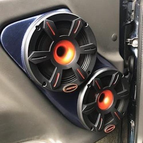 front door dual 6.5 speaker pods for tahoe silverado sierra yukon