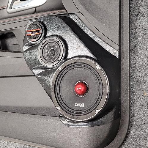 """Front Door Speaker Pods for 6.5"""" 3-way 10-17 Terrain-Equinox"""