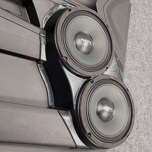 """Dual 8"""" Front Door Speaker Pods 2010-2017 Terrain Equinox"""