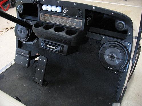 speaker pods ezgo txt stereo installation dash kit accessory custom