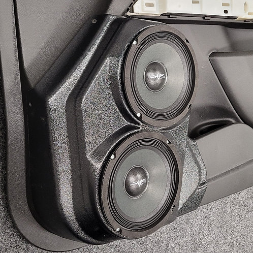 2015-2020 Chevrolet Colorado GMC Canyon front door stereo speaker pods for dual 6.5 right side image