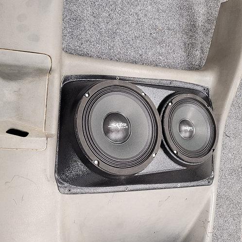 "Extended Cab Rear Door Speaker Pods for 8"" and 6.5"" 00-06 Silverado Sierra"