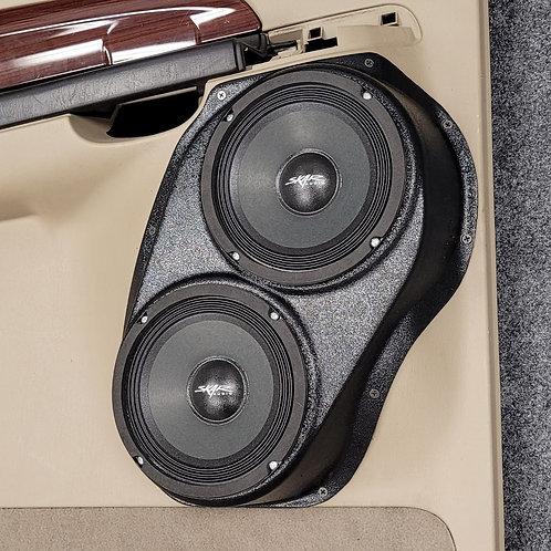 "Rear Door, Dual 6.5"", Speaker Pods, 99-07 Excursion"