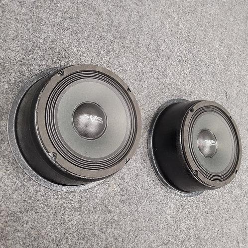 "Universal, Flat-Mount Speaker Pods, Single 8"""