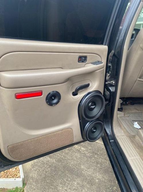 """Rear Door Speaker Pods for 8"""" and 6.5"""" 00-06 GMFST"""