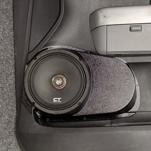Toyota Tundra front door speaker pods stereo upgrade accessory