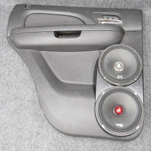 07-14 GMFST LTZ Tahoe Rear Door Flangeless Speaker Pods for Dual 8