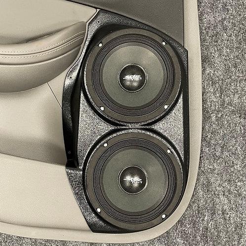 "Dual 6.5"" Rear Door Speaker Pods 14-20 Impala"