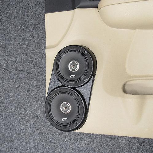 front door speaker pods flangeless stereo upgrade for tahoe suburban yukon silverado sierra escalade