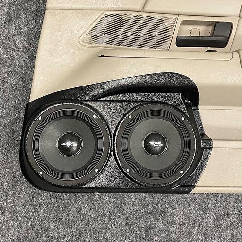 """Front Door Dual 6.5"""" Speaker Pods 09-12 Crown Vic Grand Marquis MK2"""